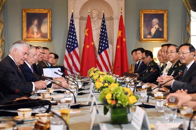 朝核成中美外交安全对话焦点 美呼吁中方发挥更大影响力