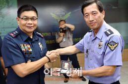 군산해경 찾은 필리핀 국립경찰청 국장'감탄'