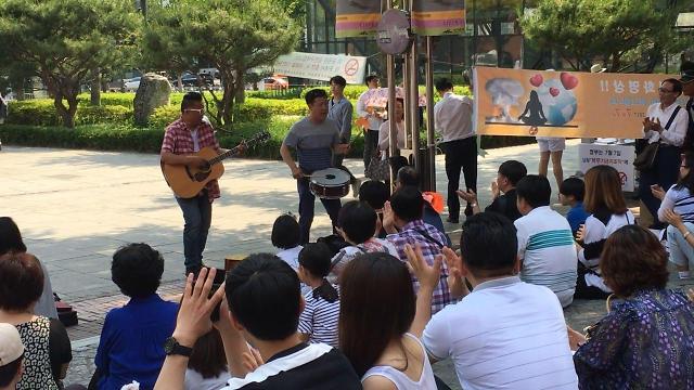 [AJU VIDEO] 首尔路边的尽情弹唱