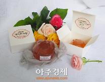 포항시, 장미꽃잎 활용한 장미꽃비누 시제품 출시