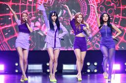 [PHOTO] MAMAMOOs showcase of mini-album Purple