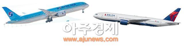 대한항공·델타항공, 韓·美 하늘길 잇는다...조인트벤처 협정 체결