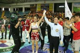 이은혜 WIBA 플라이급 세계챔피언, 1차 방어전 성공