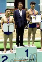 울산대 김덕일, 제71회 전국씨름선수권대회 경장급 우승