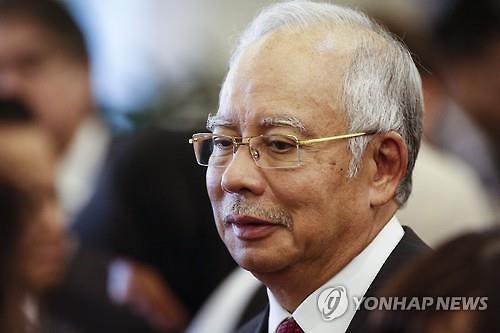 美 법무부, 나집 총리 자산 압류 착수