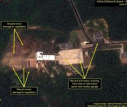 .Satellite imagery shows N. Koreas small rocket engine test: 38 North.