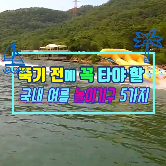 [아잼 이슈] 죽기 전에 꼭 타야할 국내 여름 놀이기구 5가지