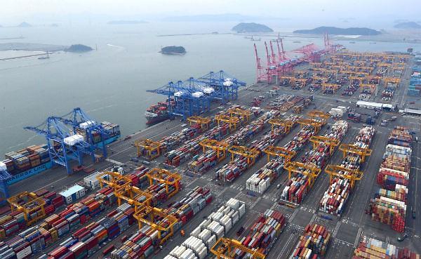 韩6月出口同比增13% 连续8个月呈增势