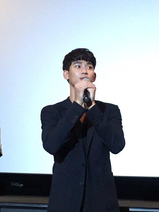 金秀贤携新片做宣传 大批粉丝到场为偶像加油