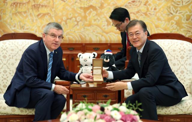 国际奥委会主席:将积极支持朝鲜参加平昌冬奥