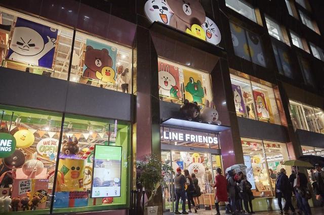 可爱卡通形象美国市场能否吃得开?LINE FRIENDS STORE将于8月亮相纽约