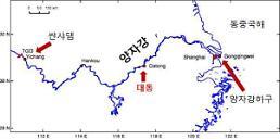 제주, 중국 양자강 저염분수 유입 우려