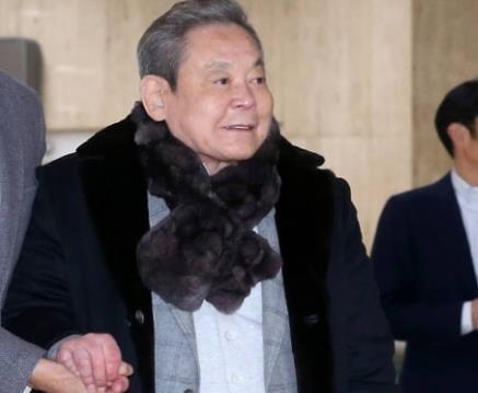 李健熙财富185亿美元 位列全球第45大富豪