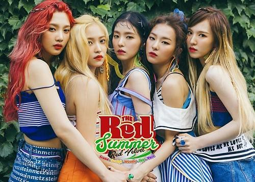 Red Velvet新歌问鼎韩主流音源榜