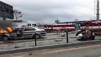 인천 서구  중봉대로 도로상에서 교통사고 발생