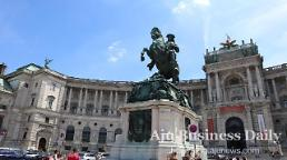 .Glimpse of Habsburg royals lives in Hofburg Imperial Palace in Vienna, Austria.