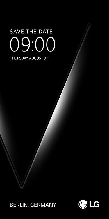 LG V30将于8月31日公开