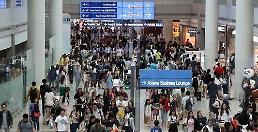 .夏季休假仁川机场人流量或达684万人次 8月13日迎人流高峰.