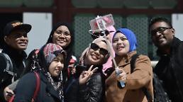 .中国游客走了拿东南亚游客救急? 韩扩大清真餐厅数量增加往返包机 .
