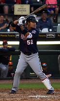 박병호, 13G 만에 시즌 5호 홈런·황재균, ML 첫 실책