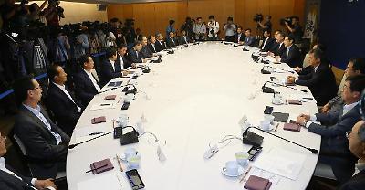 일자리 15개 기업 초청 정책간담회