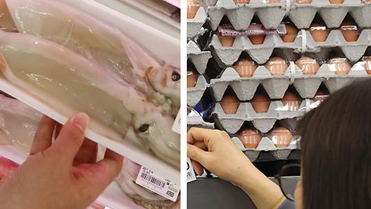 6月韩国生产者物价连续4个月下降 鱿鱼鸡蛋价格是去年两倍