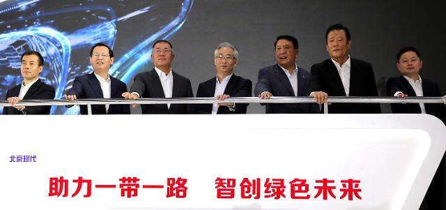 现代汽车重庆工厂落成 营销体系覆盖中国西南地区