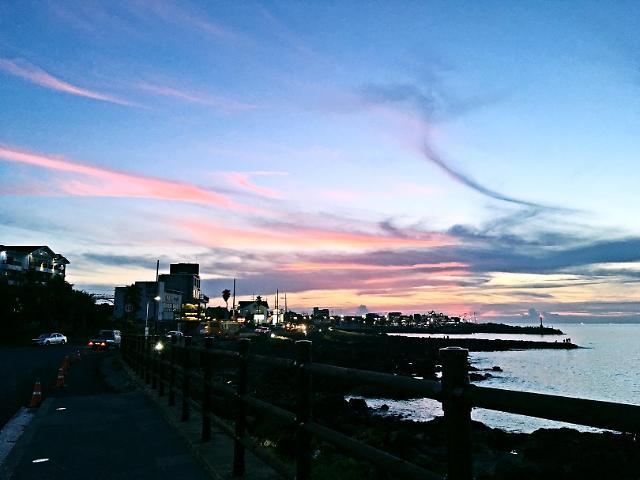[AJU VIDEO] 美哭~我保证这是济州岛最美的晚霞~
