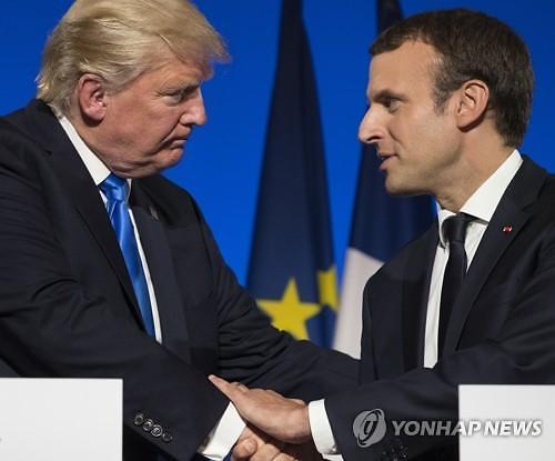 [글로벌뉴스60초브리핑] 트럼프와 떠오르는 스타 마크롱