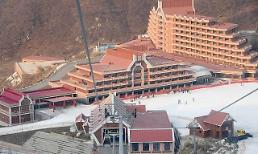 N. Koreas new ski resort under construction near border with China