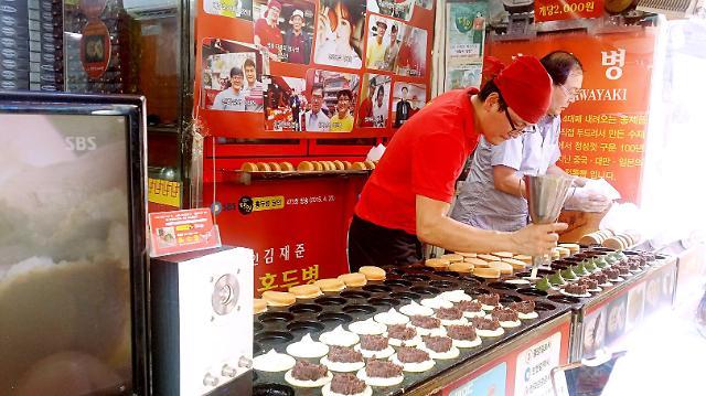 [AJU VIDEO] 明星最爱,每次买必排队的红豆饼!