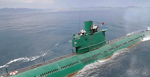 朝鲜或将试射潜射导弹 R级潜艇近期行踪异常