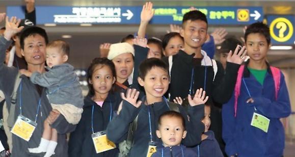 30名缅甸难民明入境韩国