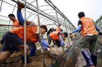 한화그룹, 충청지역 수해복구 봉사활동