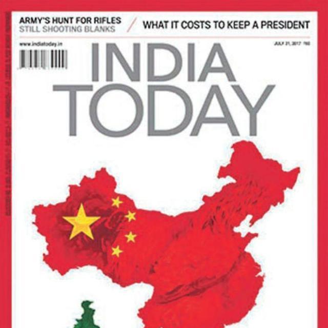 국경분쟁 인도-중국 언론전 격화