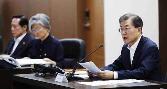 朝鲜深夜再度射弹 韩总统文在寅指示部署剩余4辆萨德发射车