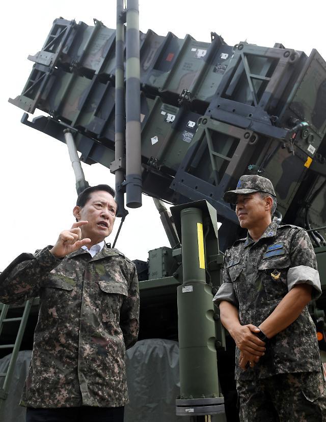 韩防长:将升级爱国者导弹加强首都圈战略防御力量