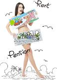 .More than half of S. Koreans say no to nude pension.