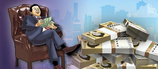 韩国有钱人标准出炉 看看你还差多少?