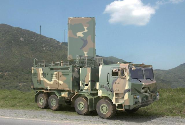 韩军新型反炮兵雷达研制成功 明年服役