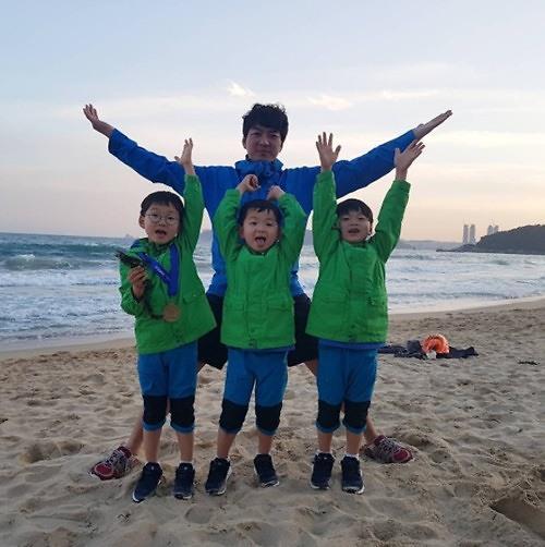 宋一国妻子赴法海外研修一年 大韩民国万岁同行