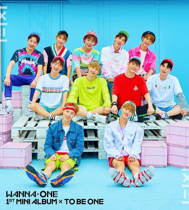怪物新人宣战乐坛 Wanna One出道曲席卷国内外音源榜