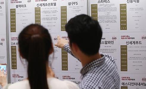 韩7月就业人数同比增31.3万人 失业率3.5%
