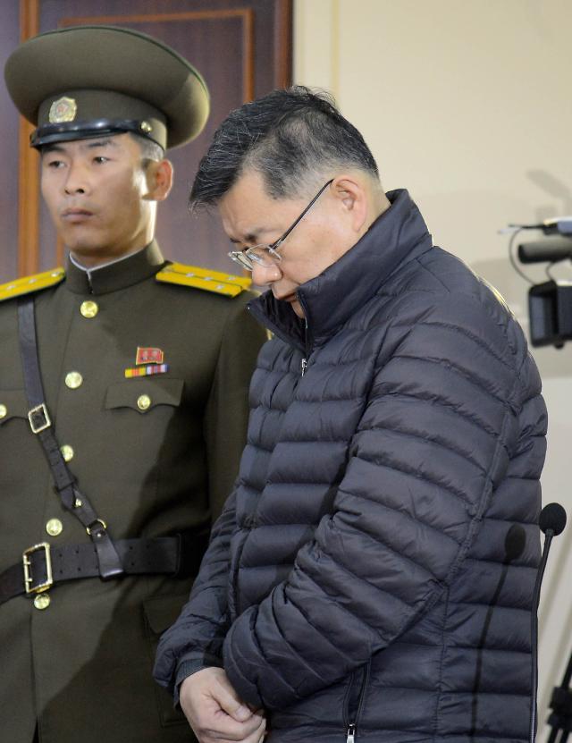 朝鲜宣布韩裔加拿大籍牧师被保释