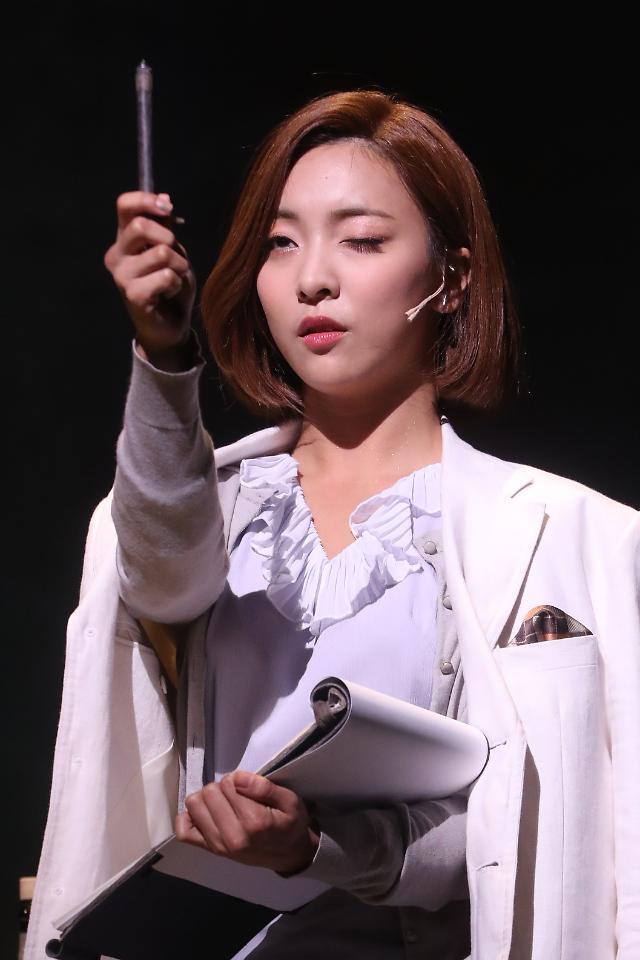 f(x)成员Luna出演音乐剧《REBECCA》
