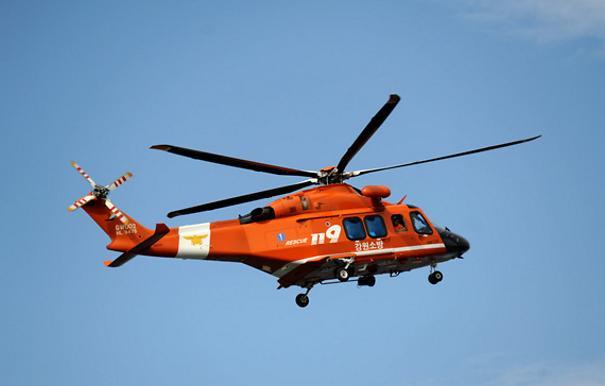 [AJU VIDEO] 汉江119救援直升机夜间起飞