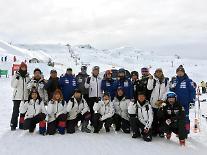 シン・ドンビン会長、韓国のスキー代表選手団を激励