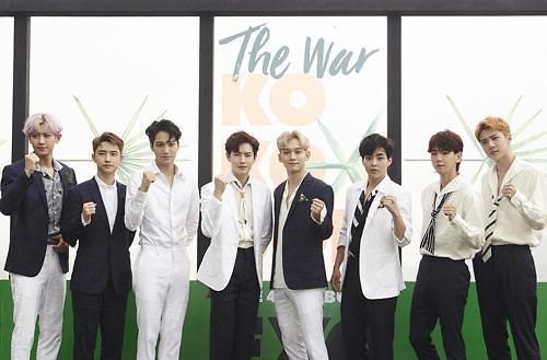 EXO四辑销量24天破百万 创最短时间纪录