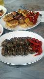 .[AJU VIDEO] 束草美食--鲜美的鱿鱼米肠.