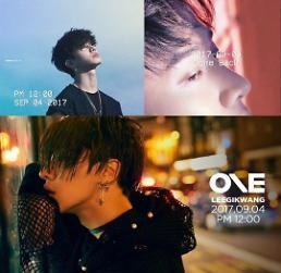 .李起光时隔8年SOLO回归 下月发行专辑《One》.